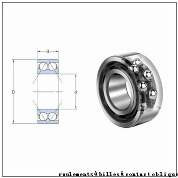 45 mm x 75 mm x 16 mm  FAG B7009-E-2RSD-T-P4S roulements à billes à contact oblique