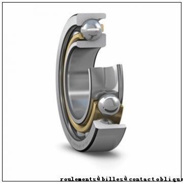 26 mm x 124,8 mm x 61,2 mm  PFI PHU8507 roulements à billes à contact oblique