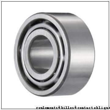 45 mm x 100 mm x 25 mm  FBJ QJ309 roulements à billes à contact oblique