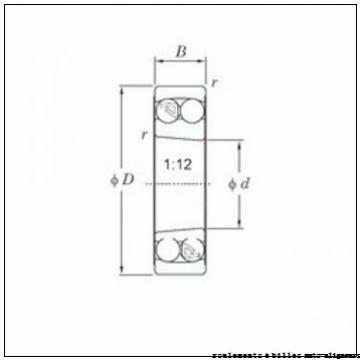 80 mm x 140 mm x 26 mm  FAG 1216-K-TVH-C3 roulements à billes auto-aligneurs