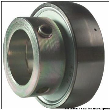 47,625 mm x 101,6 mm x 20,6375 mm  RHP NLJ1.7/8 roulements à billes auto-aligneurs